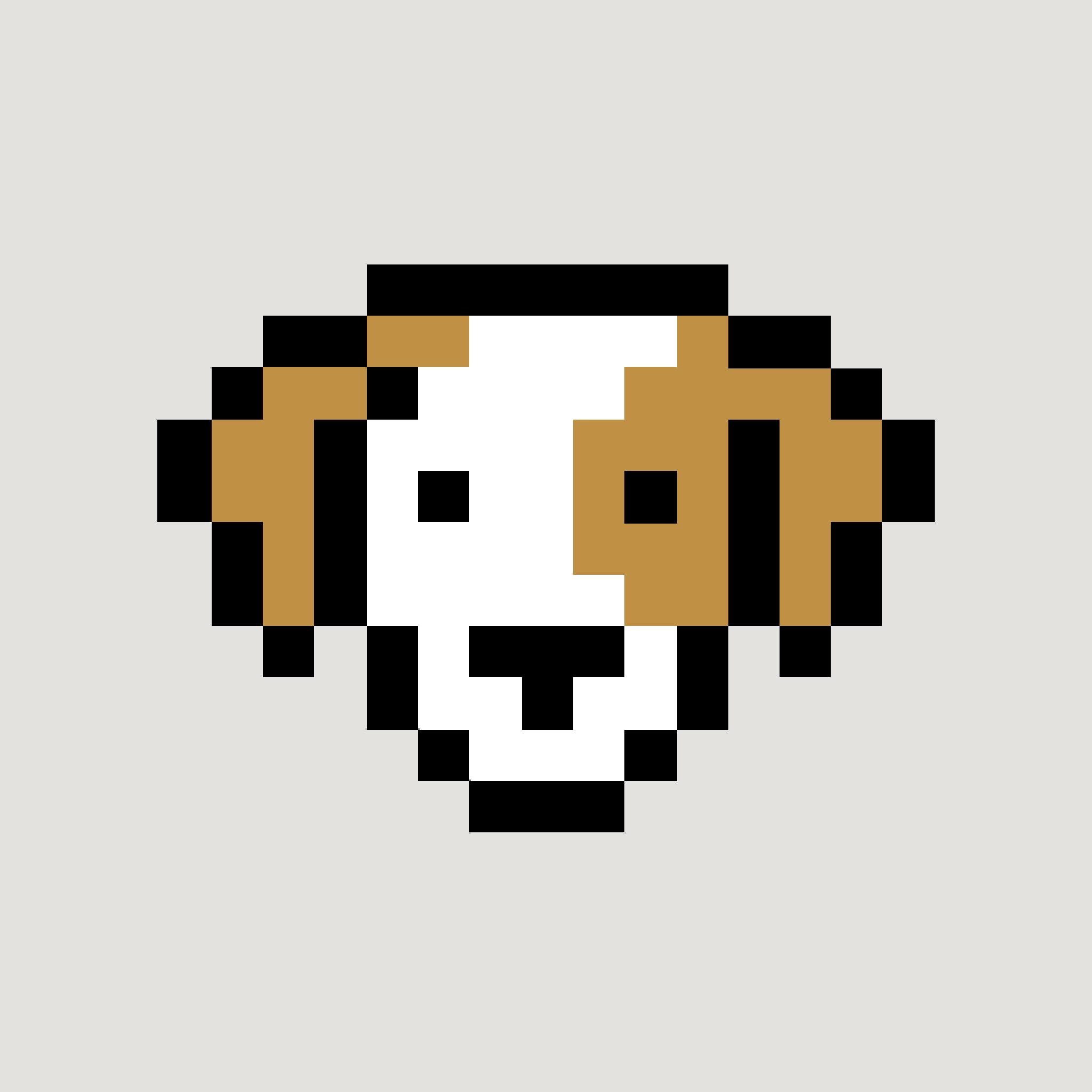 ipad3_1563 Pixel Art Dog @koolgadgetz.com.info
