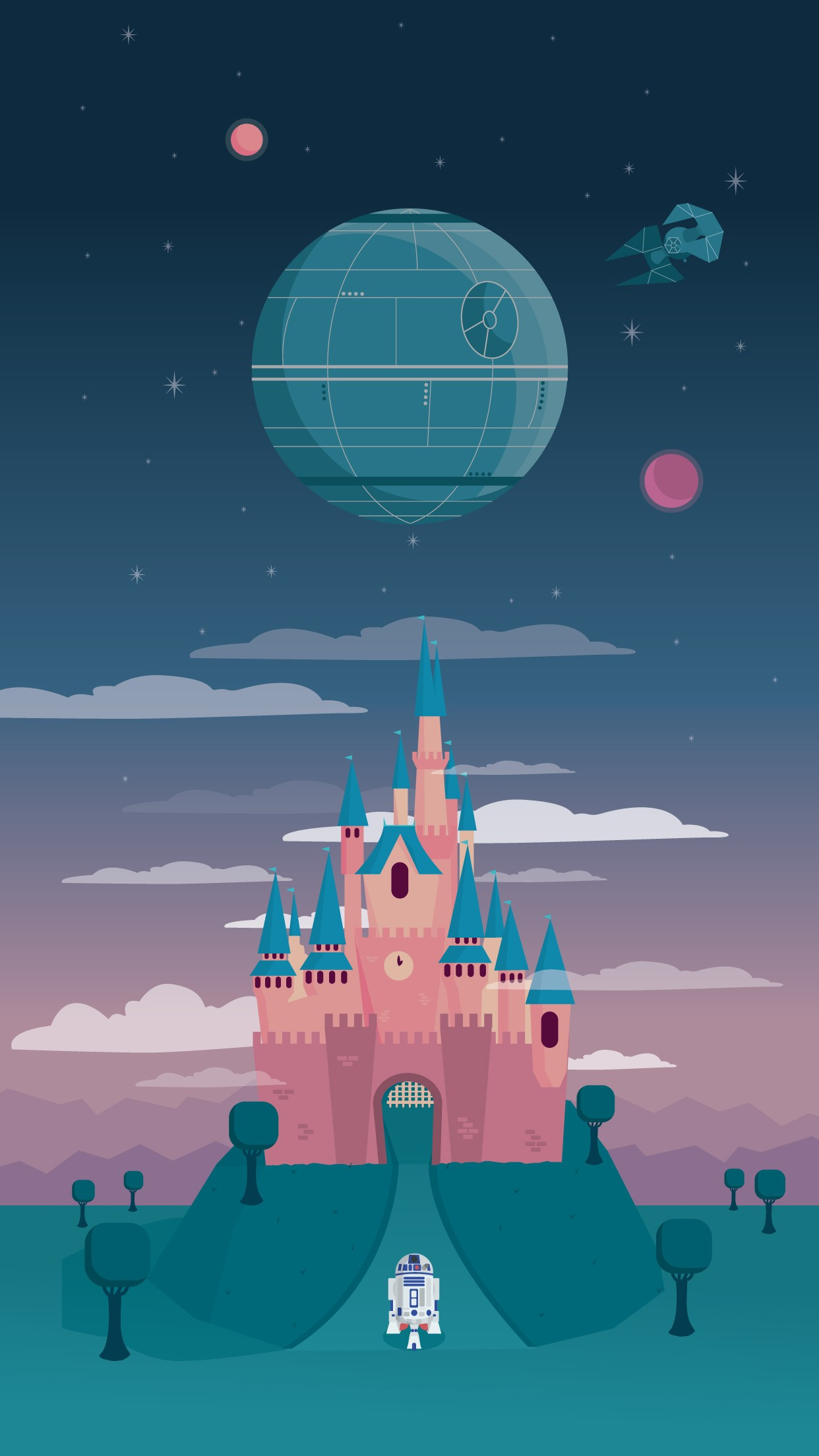 poolga. milli-jane - disney and the death star