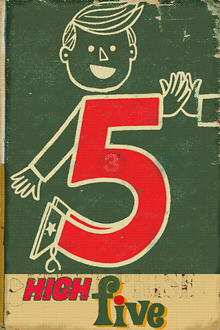 Poolga - High Five - Paul Thurlby