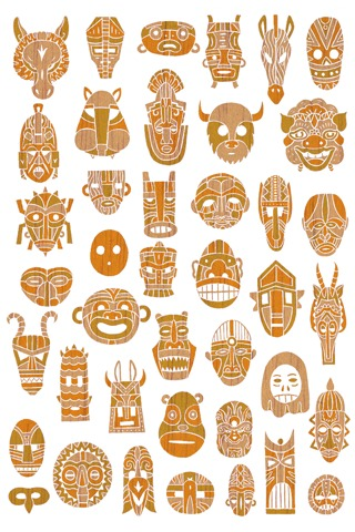 Masks by Jake Blanchard