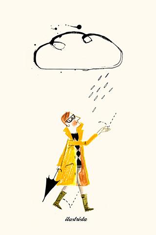 Rain Man by Luciano Lozano, ilustrista