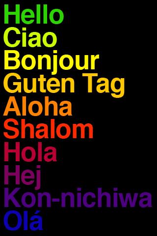 Hello Helvetica by Antonio Carusone