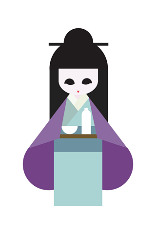Geisha 3 by Hey