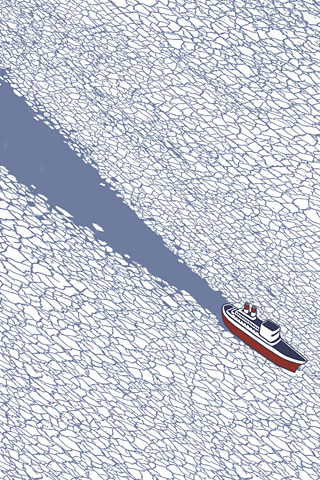 The Ice-Breaker by Francesco Bongiorni