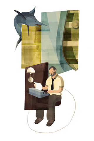 Hemingway by Andrew Lyons