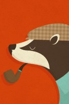 Country Badger by Zara Picken