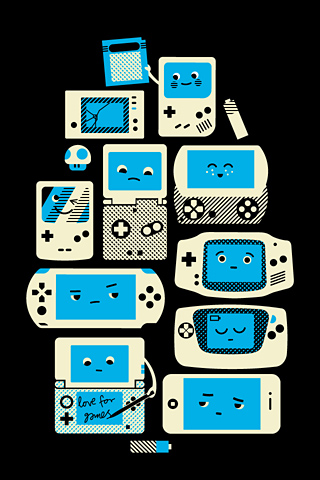 Love for Handhelds by Axel Pfaender