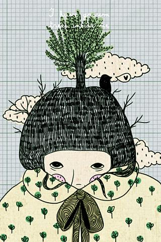 I have grown trees inside me 1 by Gizem Vural