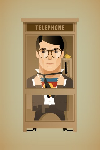 Clark Kent by Stanley Chow
