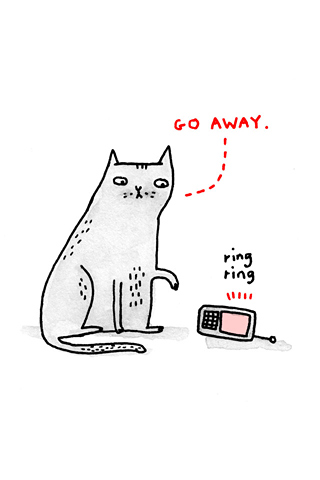 Go Away by Gemma Correll