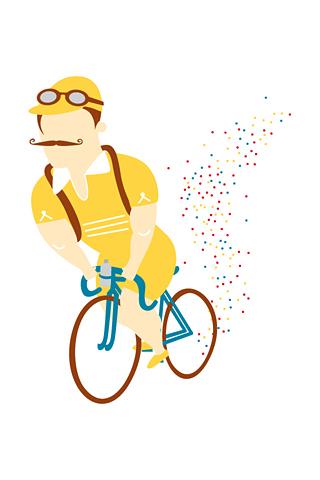 Tous fous du Tour! by Pierluigi Riccio