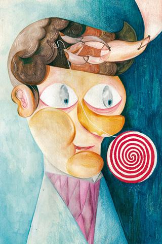 Lavado de cabeza B by Dario Cerbino