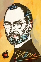 Steve Jobs by Kyle T Webster