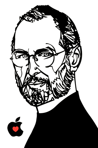Steve Jobs 2 by Kyle T Webster