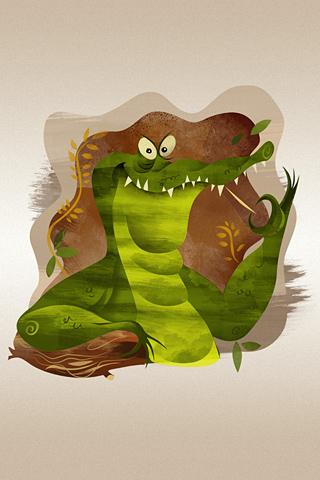 Poolga - Gator - Dave Mott