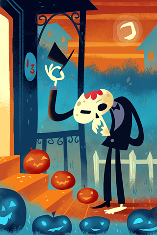Poolga - Trick or Treat - Gorillustrator