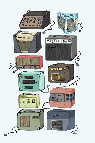 Amplifiers by Simone Capano