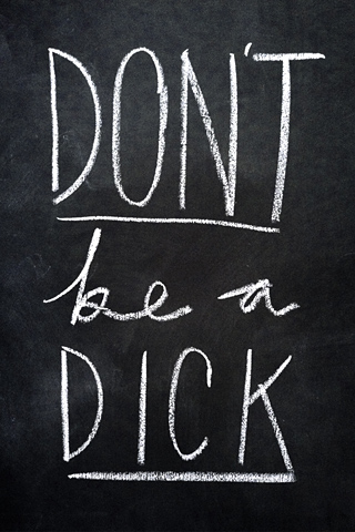 Poolga - Don't be a Dick - themeekshall