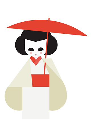 Geisha 5 by Hey