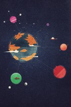 Planets by Dan Matutina for Red Lemon Club