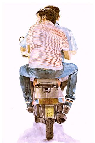 Runaway back by José Manuel Hortelano-Pi
