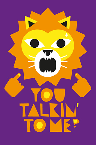 Talking Lion by Alex Omist