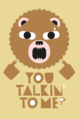 Talking Bear by Alex Omist