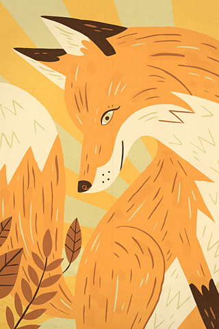 Fox by Owen Davey