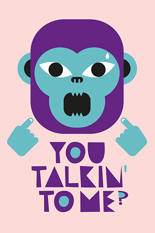 Talking Kong by Alex Omist