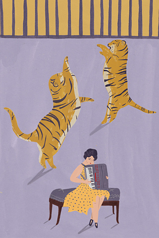 Poolga - Tigers - Naomi Wilkinson