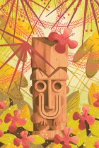 Tiki Time 1 by Andrew Kolb