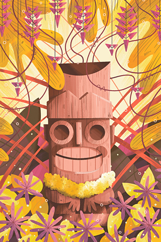 Poolga - Tiki Time 2 - Andrew Kolb