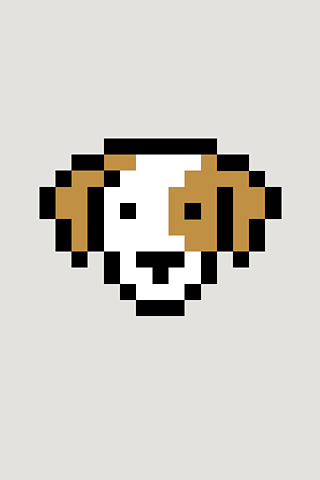 Dog by Susan Kare