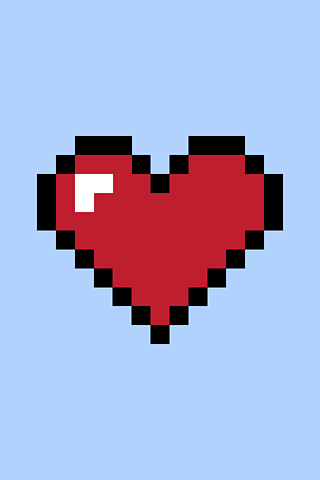 Heart by Susan Kare