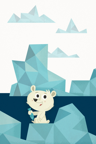 Poolga - Polar Bear - Eva Galesloot