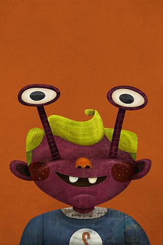 Chubby Weird Eyes by Jacob Souva