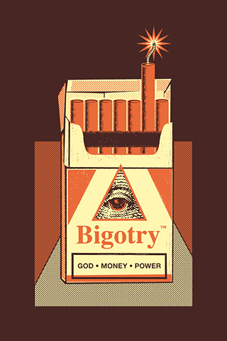 Bigotry Red by Manu Callejón
