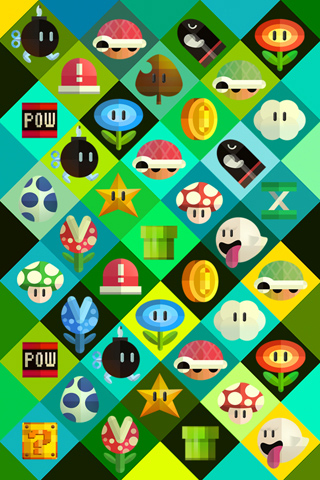 Poolga - Mario Items - Scott Balmer