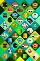 Mario Items by Scott Balmer