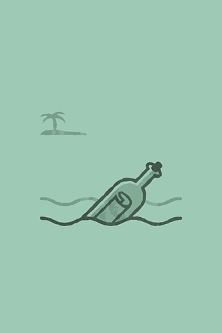 Message in a Bottle by Elias Stein