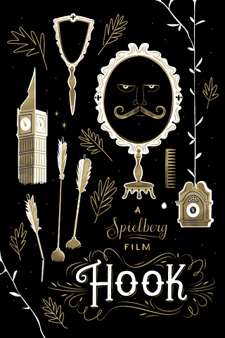 Hook by Danielle Davis for Silver Screen Society