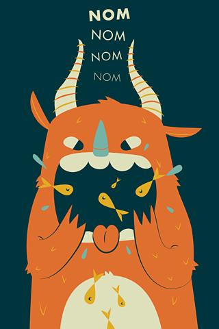 Nom Nom Nom by Zara Gonzalez Hoang