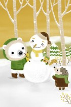 Snowman & Friends by Yu-hsuan Huang (Smallx2)