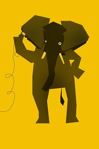 Elephant by Daniel Uzquiano
