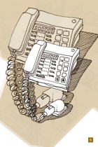 Telephone by Rainer Berg