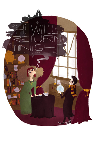 Harry Potter by Emma Trithart for Silver Screen Society