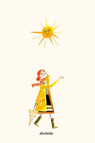 Sun Woman by Luciano Lozano, ilustrista