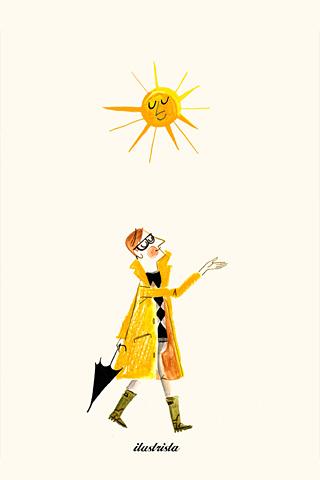Sun Man by Luciano Lozano, ilustrista