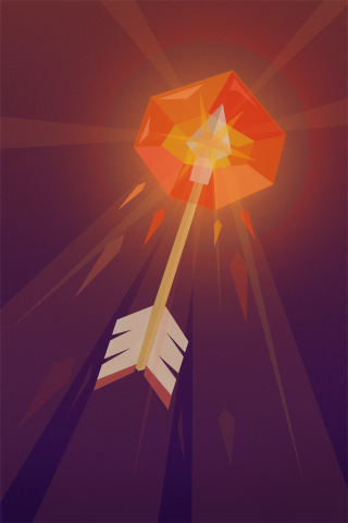 Fire Arrow by themeekshall