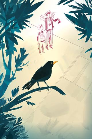 Blackbird's Swoop by Giovanni Da Re
